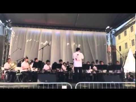 20150821 嘉義市北興國中 -- 太湖船與雨夜花 在布拉格國際管樂節精彩表演 - YouTube