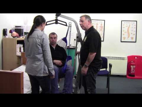 Hoist Bed To Chair - Patient Moving & Handling