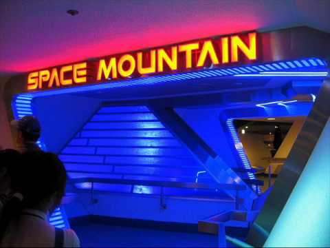 Space Mountain ride music - YouTube