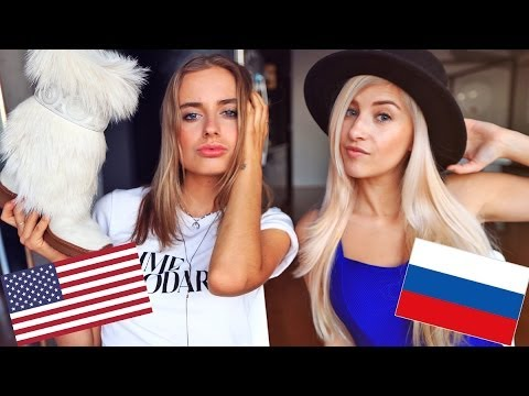 Russian VS American Fashion - YouTube