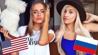 One of Evelina's most viewed videos: Russian VS American Fashion