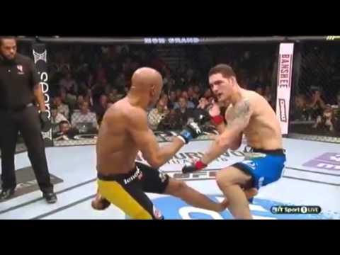 Anderson Silva Leg Break Vs Chris Weidman 2
