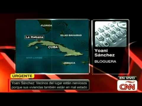 Derrumbe de edificio en Cuba