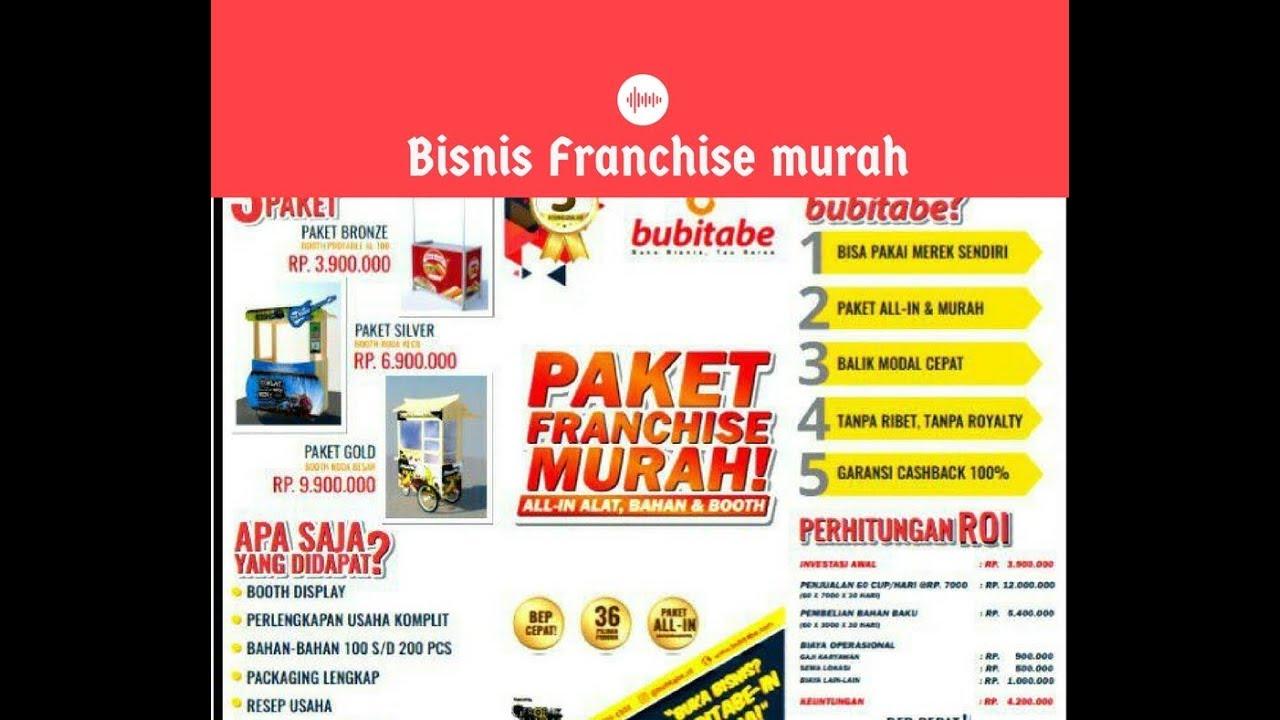 08817603643 | Bisnis Franchise Murah Modal Kecil Terlaris ...