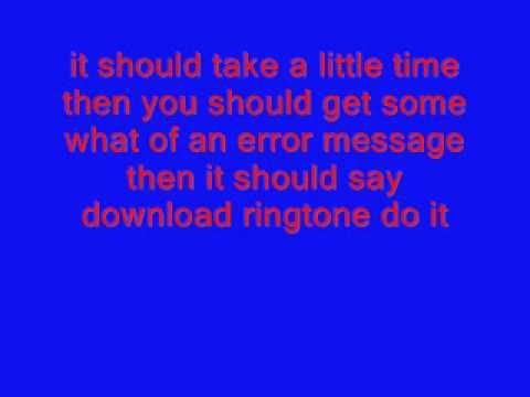 HOW TO GET FREE RINGTONES FOR VERIZON PHONES