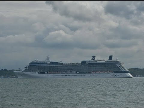 Cruise Ships & Other Vessels in Southampton Docks - 10/05/2016