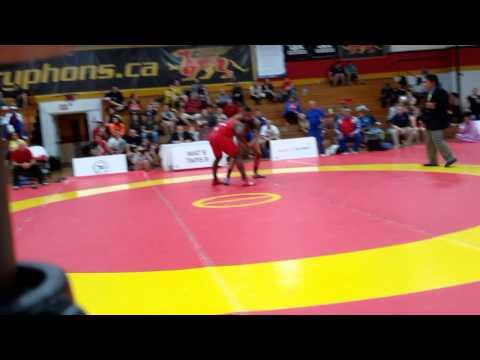 2015 Canada Cup: 86 kg Final Yurieski Queralta (CUB) vs. Jasmit Phulka (CAN)