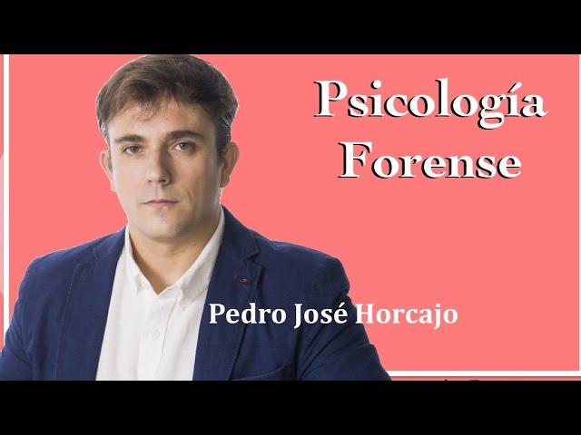 Psicología forense. Entrevista con Pedro José Horcajo