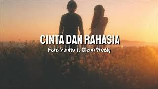 Cinta dan rahasia - yura yunita ft Glenn fredly cover By salshabilla [lirik]