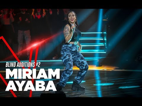 "Miriam Ayaba ""Amazzonia"" - Blind Auditions #2 - TVOI 2019"