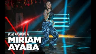"Miriam Ayaba ""Amazzonia"" - Blind Auditions #2 - TVOI 2019"