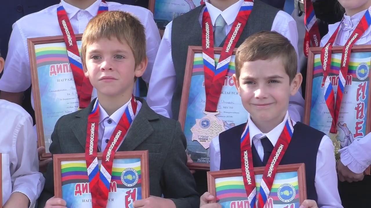 Тхэквондисты из Гулькевичи стали победителями в Кубке Черного моря