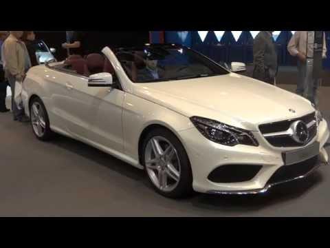 Mercedes-Benz E 360 BlueTEC at Madrid Motor Show 2014 | AutoMotoTV