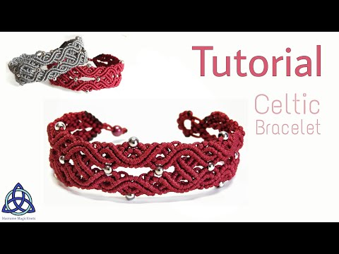 Macrame Bracelet Tutorial : Celtic Knot Design