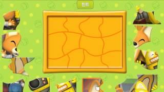 뽀로로 게임 - 뽀로로퍼즐 (flash game)