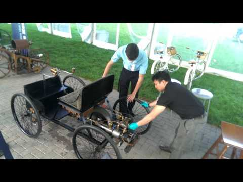 Ford Quadricycle Engine Run at Henry Ford Museum (1896 replica)