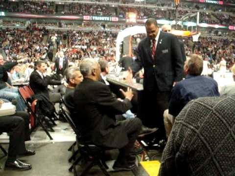 "Norm Van Lier at the Bulls vs. Detroit/Johnny ""Red"" Kerr Night."