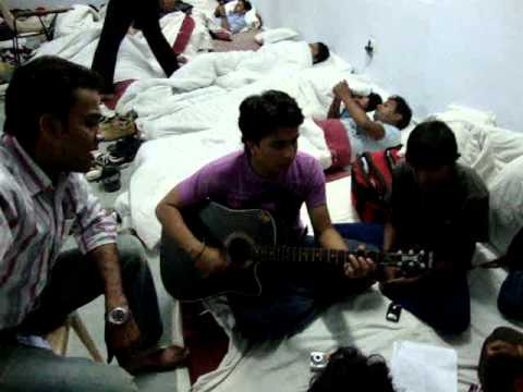 dooba dooba while practicing by Anupam Sinha n friends..