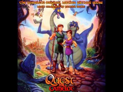 quest for camelot ost 01 looking through your eyes