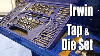 Irwin Tools Tap And Die Set 116 Piece - ISN Tool Dealer Expo
