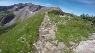 Von der Kanzelwand auf die Hammerspitze - über Gratweg