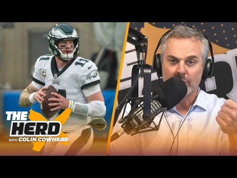 Wentz's mindset is in question, talks Raiders improvement and Packers — Howie Long | NFL | THE HERD
