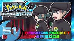 POKÉMON ULTRAMOND Part 61: Team Rainbow Rockets Schloss!