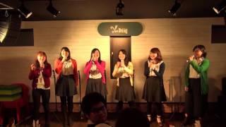 2015年12月26日,亀有レストラン・カフェYeeDiningで行われたあかぺらつ...