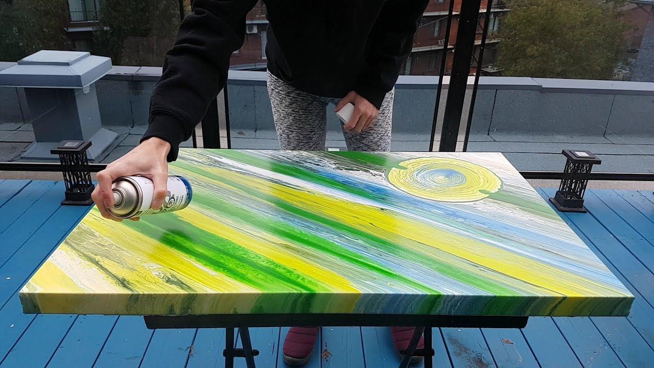 How to Spray Varnish an Acrylic Painting