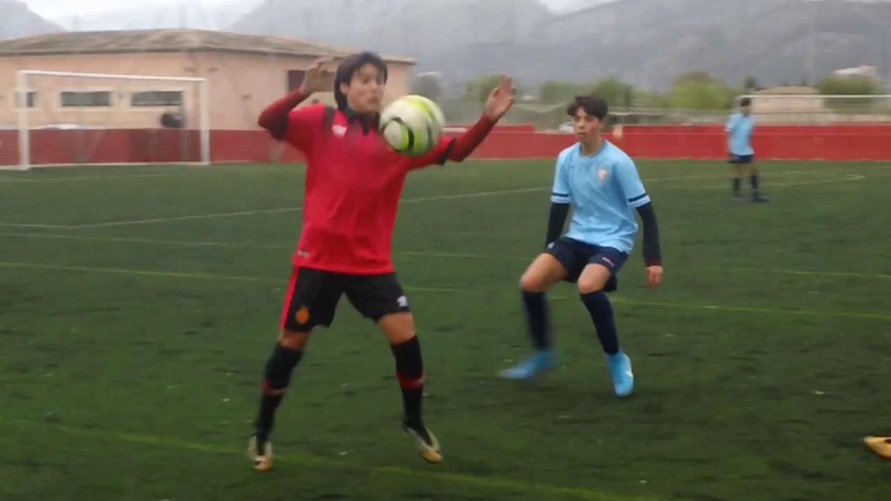 Luka Romero Infantil Temporada 2018 Jugando En Cadete
