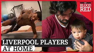 How Liverpool Players are Spending Time Away From Football (Part 4) | Salah, Alisson, Lallana