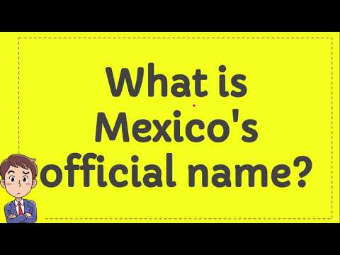 What is Mexico's official name?