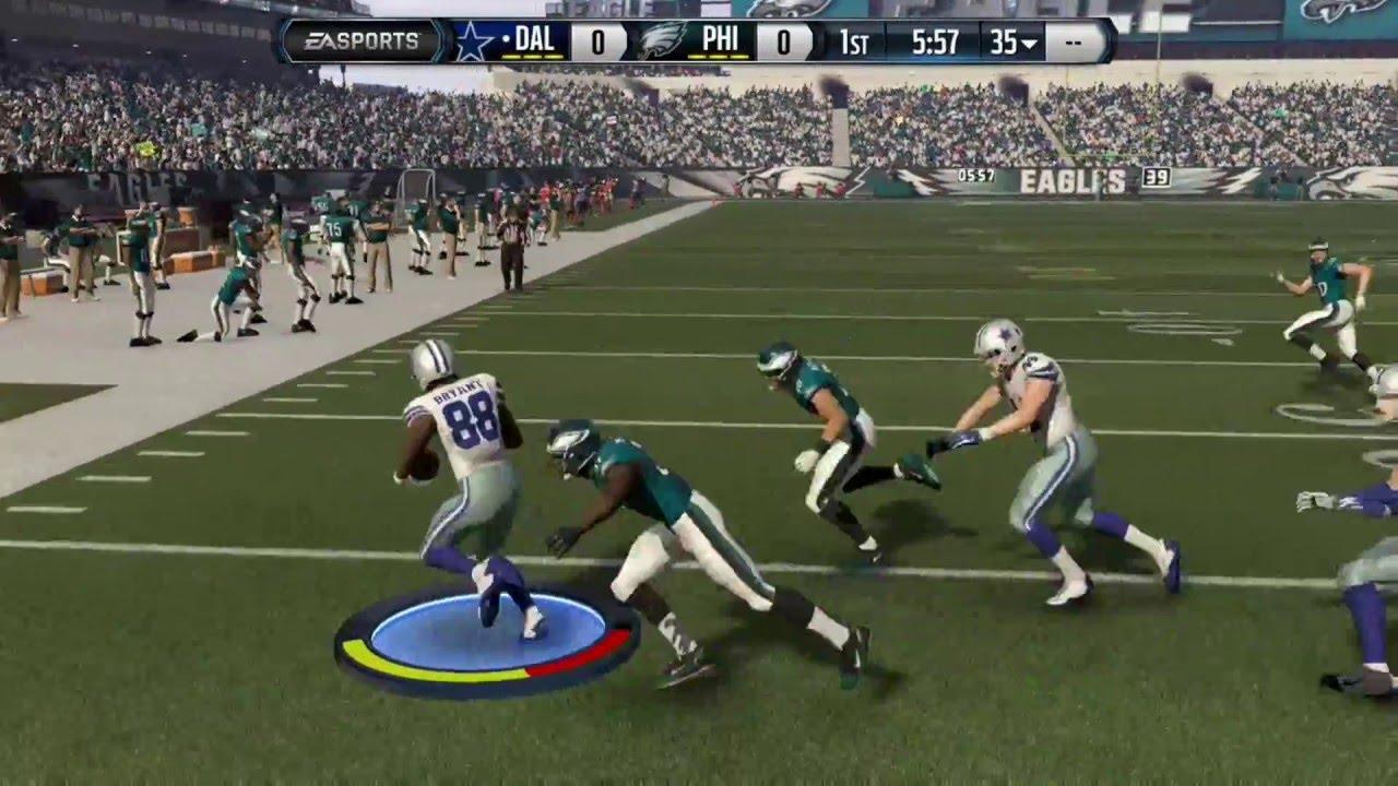 Madden 16 Dez Bryant Kick Return Touchdown Xbox One