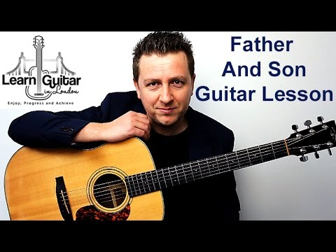 Father And Son Cat Stevens Acoustic Guitar Tutorial Drue James