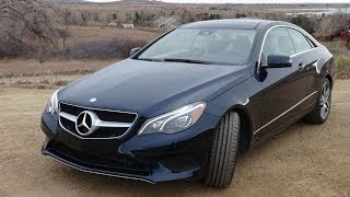 2014 Mercedes-Benz E350 Coupe Eco vs Sport Mode 0-60 MPH Review