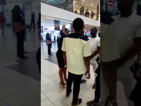Touching! Nigerian Lady Proposed To Boyfriend At Mall & He Ran Away; She Cried Afterwards (Watch Video)