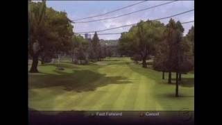 Outlaw Golf 2 PlayStation 2 Gameplay - Turnpike Valley