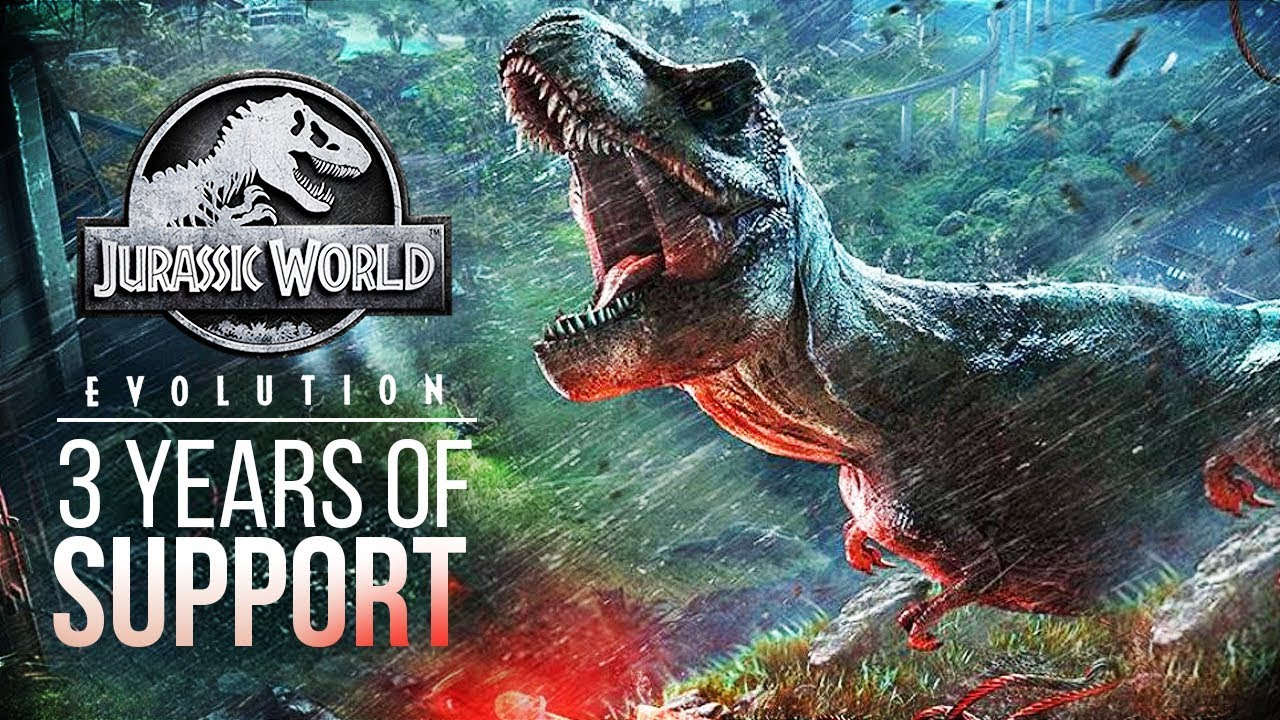 3 YEARS OF UPDATES BUT NO ROADMAP | Jurassic World: Evolution Patch Discussion