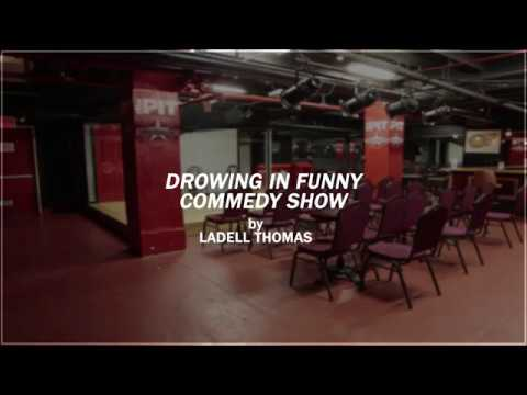 The Pit Underground NYC- Drowning in Funny Comedy Show by Ladell Thomas