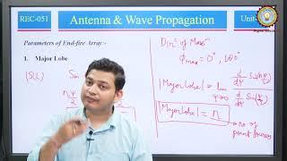 End-Fire Array By Dr. Vivek Kumar Rastogi | AKTU Digital Education