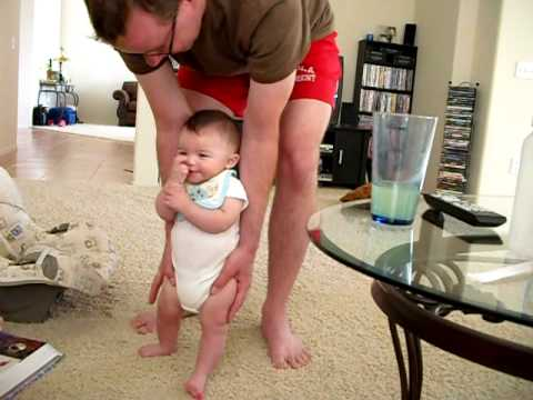 Cutest Baby Trying to Walk