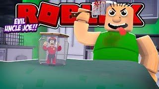 ROBLOX - ESCAPE MY EVIL UNCLE JOE!!!