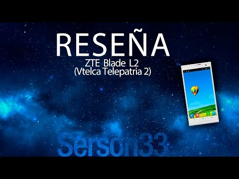 Revision a fondo - ZTE Blade L2 (Vtelca Telepatria 2)