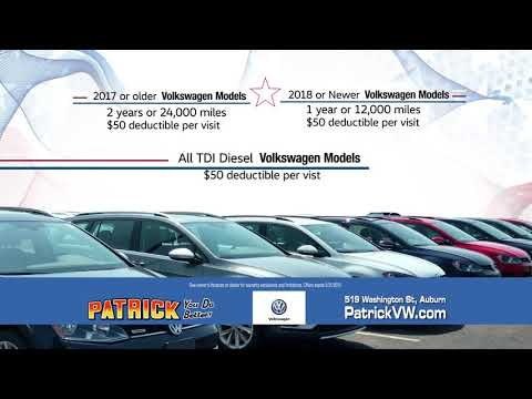 Patrick Motors Volkswagen - CPO May 2019