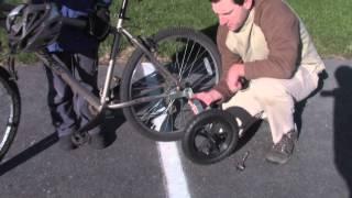 Jumpstart Adapted Recreation Equipment - Fat Wheels - training wheels