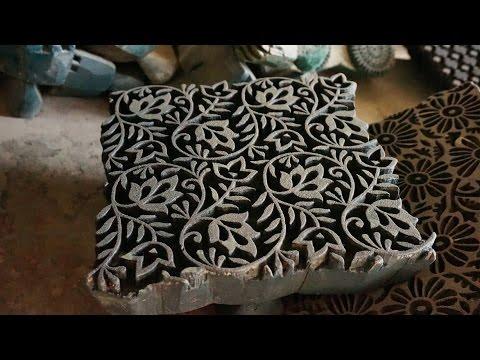 fabrication de tampons en bois en inde youtube. Black Bedroom Furniture Sets. Home Design Ideas