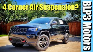 THE NEW 2018 JEEP GRAND CHEROKEE TRAILHAWK- 4 CORNER SUSPENSION IS A BEAST!!!