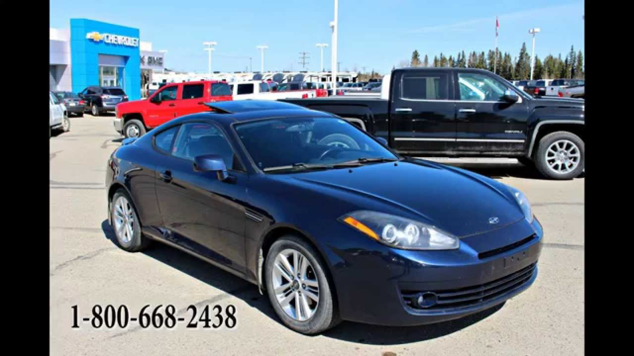 2008 Hyundai Tiburon Gs 2dr Coupe In Review Red Deer