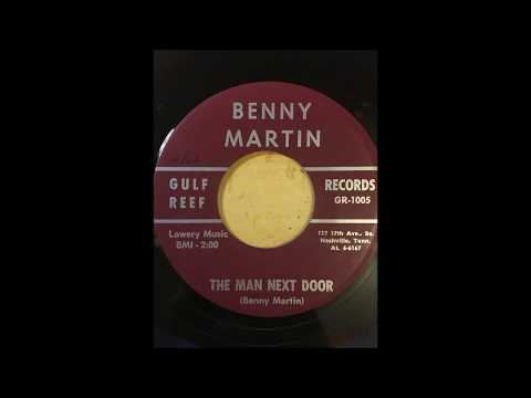 Benny Martin - The Man Next Door bw Thinking About Love GULF REEF