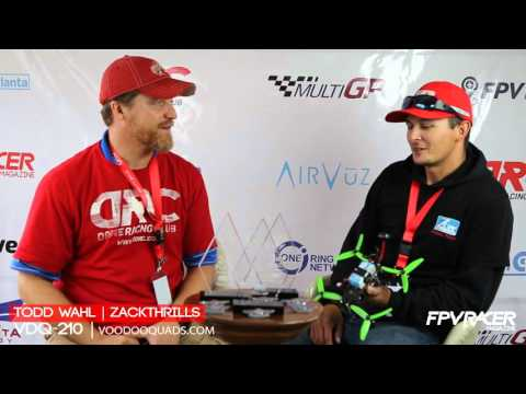 Todd Wahl & ZackThrills @ FPV Racer Magazine Interview Tent